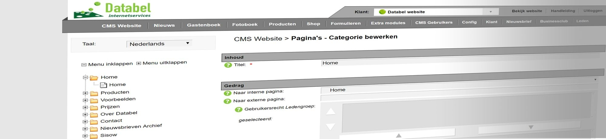 Databel CMS